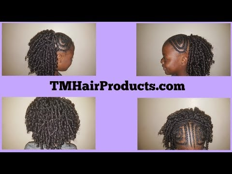 Braid hairstyles - Easy Kids Crochet Braids Hairstyles  Protective Style  TM Hair Products