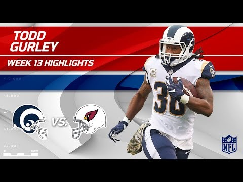 Video: Todd Gurley's Great Game w/ 158 Total Yards vs. Arizona! | Rams vs. Cardinals | Wk 13 Player HLs