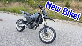 2. BIKE REVEAL | Husqvarna sm610 | WHEELIES!