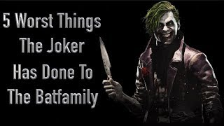 Video 5 Worst Things The Joker Has Done To The Batfamily MP3, 3GP, MP4, WEBM, AVI, FLV November 2018