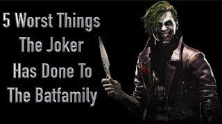 Video 5 Worst Things The Joker Has Done To The Batfamily MP3, 3GP, MP4, WEBM, AVI, FLV Mei 2018