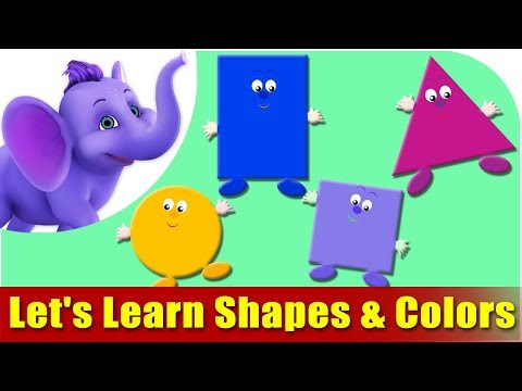 Colors - This video is designed for your child to watch and learn Shapes & Colors the FUN way... This is the best Shapes and Colors teaching module, your child will l...