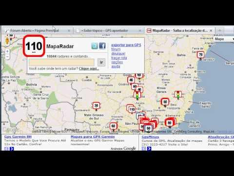 Atualização de Radares GPS - Navegador iGO 8.3 | Apontador SlimWay