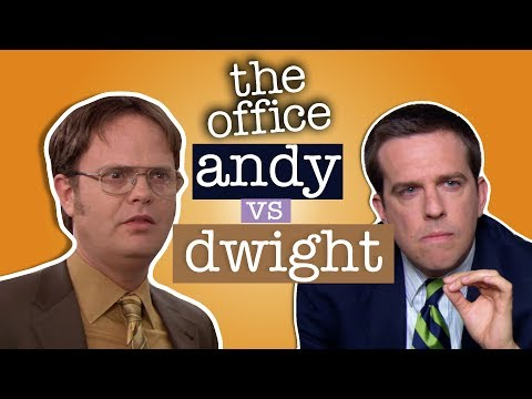 Andy Vs Dwight  - The Office US (видео)
