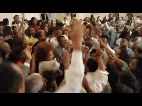 Ethiopian Bride and Groom singing Teddy Afro's new song Ethiopia on their Wedding