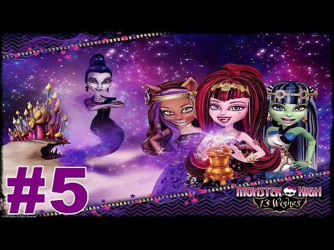 Monster High 13 Wishes Walkthrough Part 5 The Palace Candle Room