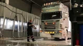 Scania Truck R500 Topline Non Contact Truckwash with ProNano Toucheless Nano Shampoo & Diamond Wax