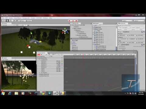 preview-Create a FPS Game in Unity 3D #5 - Adding Animation to Objects (TechzoneTV)