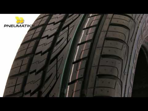 Youtube Continental CrossContact UHP 225/55 R18 98 V FR, E Letní