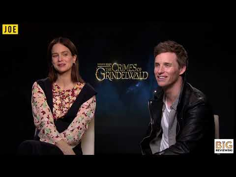 Eddie Redmayne and Katherine Waterston discuss filming Fantastic Beasts 3 in Rio