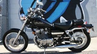 3. 2007 Honda Rebel 250 ... Black Beauty w ONLY 3000 miles!