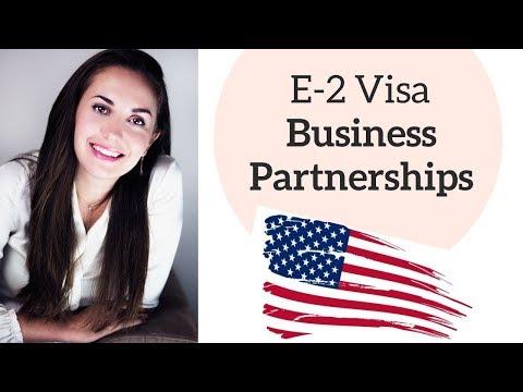 E2 Investor Visa Business Partnership👋☑️🇺🇸