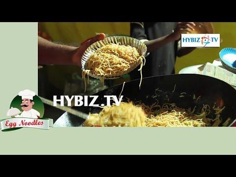 Egg Noodles-Hyderabad Street Food