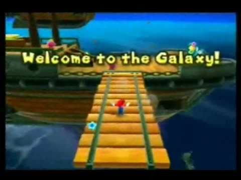 preview-Super Mario Galaxy Game Review (Wii)