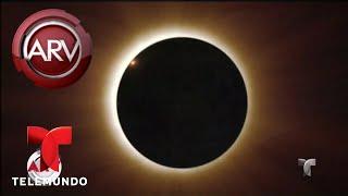 Tips para cuidar los ojos durante el eclipse solar | Al Rojo Vivo