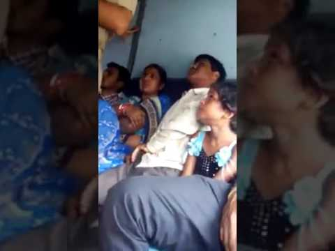 Harrasment in train by officer