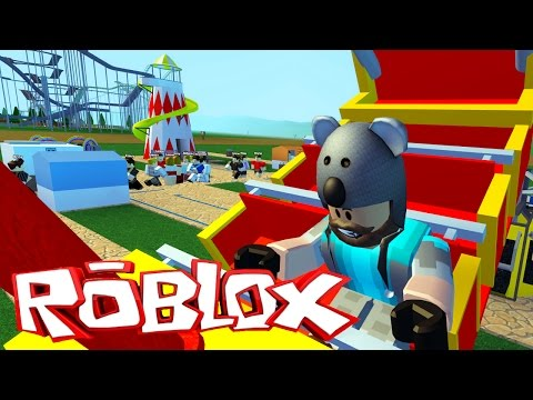RIDING MY OWN RIDES!!! | Theme Park Tycoon 2 | ROBLOX