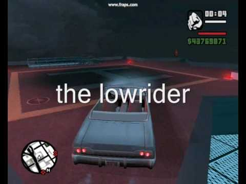 GTA SA jumping off the tallest building with cars and bikes