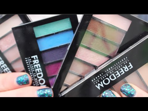 Freedom Makeup London Freedom Pro Shade & Brighten Shimmers Kit