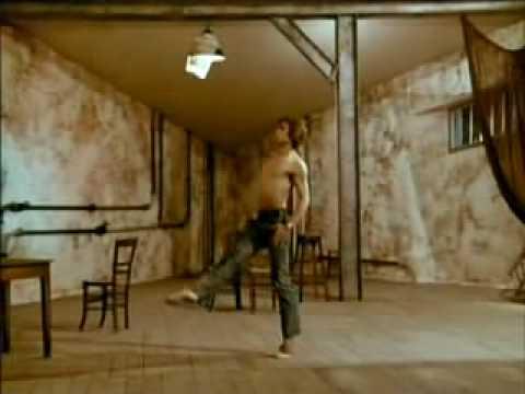 White Nights - Mikhail Baryshnikov - Le Jeune Homme et la Mort Don Quixote variation with cups by Mikhail Baryshnikov.