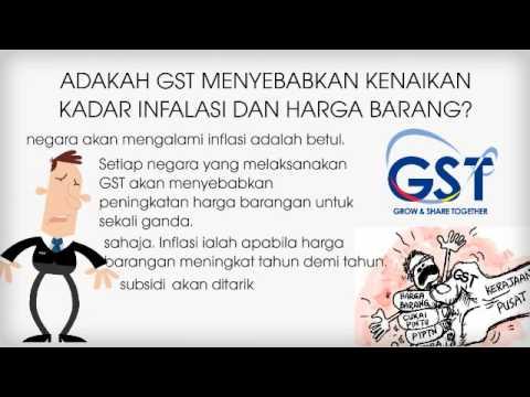 PRK N.01- Kesan GST Kepada Rakyat