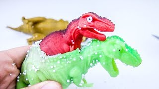 Dinosaur Parasite!!  Cutting open Dinosaurs! What's Inside??