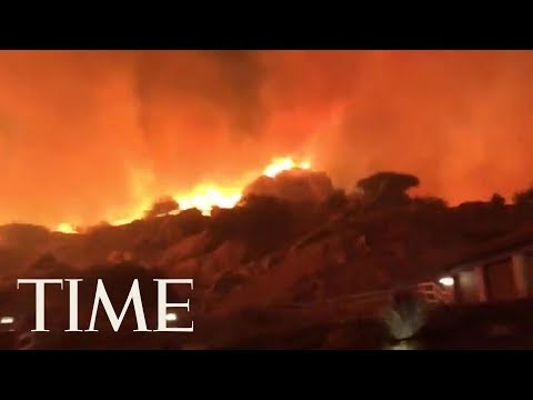 Wildfire Spreads Throughout Ventura County, California | TIME