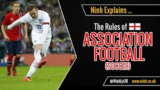 Ninh explains the Rules of Football (Soccer). A beginner's explanation of the laws of Soccer. Watch this short tutorial video guide ...