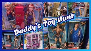 """Daddy's Toy Hunt - Shopkins Season 7 """"Lost Edition"""", Wonder Woman Dolls, L.O.L. Dolls & Baby Groot!!We are a family of toy collectors! Our videos include toy reviews, costumes, cosplay, tutorials, challenges, blind bags, vlogs, toy hunts, and stop motion videos. Drusila and Nessy love all things Monster High, plus Vamplets, Zelfs, Disney, Play Doh, and Funko. Daddy loves anything Lego, and he does a regular Daddy's Toy Hunt series. We're fun and goofy and a little bit crazy, and we like to give truthful opinions of the toys we review. We love sharing our videos with viewers around the world! Monster High Boo York Boo York Reviews Playlisthttp://youtu.be/HlvjVYoQhqIChallenges Playlist:https://www.youtube.com/playlist?list=PL3waLuL3Pk2-gULcDcrmeN6NttkR8uRJ5Toy Hunting Videos Playlisthttps://www.youtube.com/playlist?list=PL3waLuL3Pk29xpmZsloUgB81q88B1pTnUDrusila Talks About Vlogshttps://www.youtube.com/playlist?list=PL3waLuL3Pk2-zLjg_AflX4vKoX5QmGlkGBlind Bags Fever Videoshttps://www.youtube.com/playlist?list=PL3waLuL3Pk29gdX71OkFPzInCTjv44bKGMonster High Halloween Costumes and Cosplayhttps://www.youtube.com/playlist?list=PL3waLuL3Pk2_2WP4hKQ8_dpXaZVlSN4U9Monster High SDCC Exclusive Dolls Reviewshttps://www.youtube.com/playlist?list=PL3waLuL3Pk28sle3rpHRgsT8uGCe7aSr1Custom Dolls Videos https://www.youtube.com/playlist?list=PL3waLuL3Pk2-40nNY81VeFoKONmMA0g27Follow us :http://instagram.com/wookiewarrior23ythttps://www.flickr.com/photos/wookiewarrior23https://plus.google.com/+WookieWarrior23"""