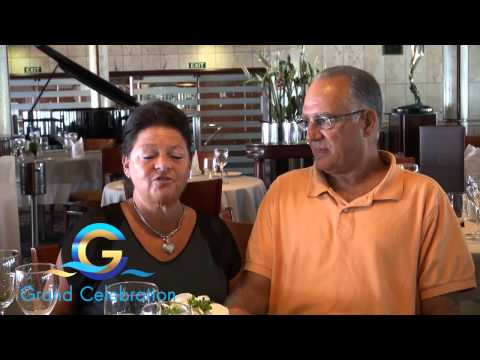 Grand Celebration Ship Review Tom and Barbara