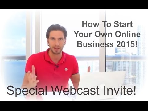 Free [Video] Training  [How To] Start Your Own Online Business 2015