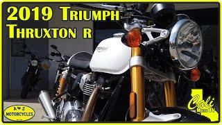 2. 2019 Triumph Thruxton R Review