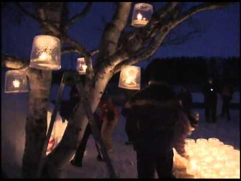 【北海道】アイスキャンドルで幻想的な冬景色!