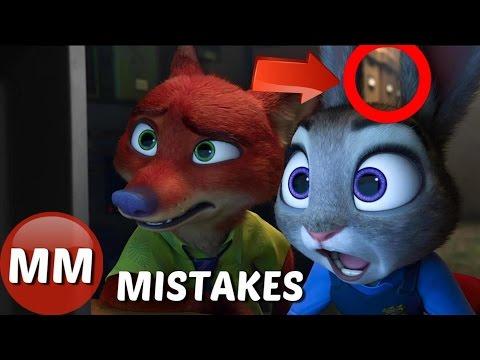 Disney Zootopia MOVIE MISTAKES You Didn't See |  Zootopia Movie
