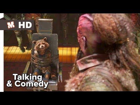 Guardians Of The Galaxy 2 Hindi Talking & Comedy Scene