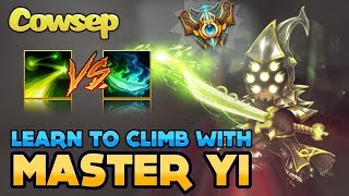 Cowsep puts down the saltshaker and puts on his tutoring hat. Join us in this digested full game full game Master Yi with full ...