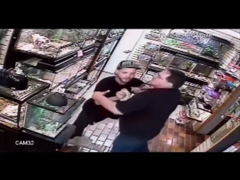 Is That a Python in Your Pants? Man Gets Caught Stealing From Pet Store