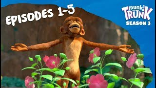 Video M&T Full Episodes S3 01-05 [Munki and Trunk] MP3, 3GP, MP4, WEBM, AVI, FLV Maret 2019