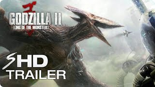 GODZILLA 2: King of the Monsters (2019) Teaser Trailer #1 Concept - MonsterVerse Movie [HD]