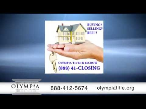 Olympia Title & Escrow | Facilitate Insurance & Real Estate Closings | Fort Lauderdale, FL