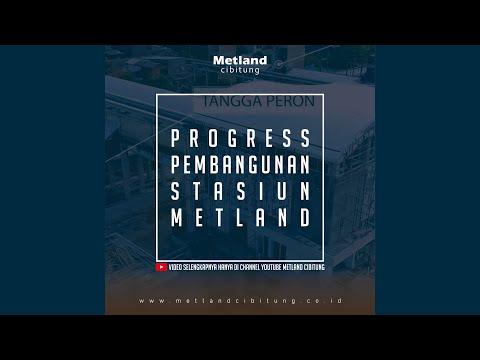 Progres Stasiun KRL Telaga Murni - Metland Cibitung