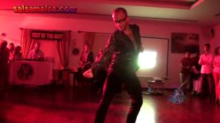 ENGIN ORHAN | SOLO CHA CHA SHOW | 7th SALSA JAM IN CYPRUS BIGGEST LAUNCH PARTY