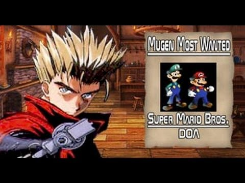Mugen Most Wanted: Super Mario Brothers