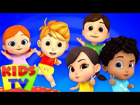 Five Little Babies   Boom Buddies   Kids Nursery Rhymes & Kindergarten Songs for Children