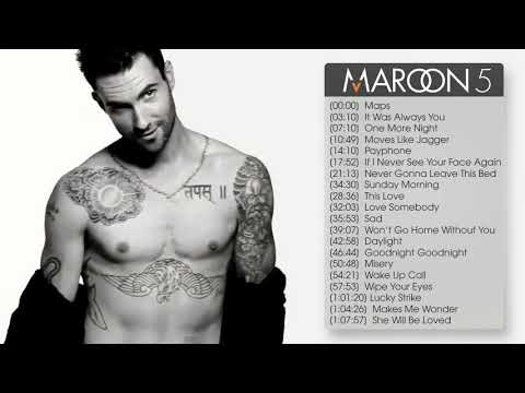 The best songs of Maroon5 - Thời lượng: 1:12:14.