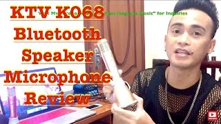 Download Lagu KTV K068 BLUETOOTH SPEAKER MICROPHONE REVIEW BY BRYAN MAGSAYO Mp3