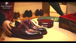 Video Handmade Shoes for Men,  How to Make Goodyear Welted Shoes by Paul Parkman MP3, 3GP, MP4, WEBM, AVI, FLV Juni 2019