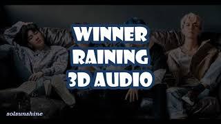 WINNER - RAINING (3D Audio Use Headphones!)