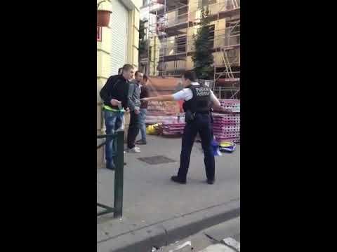 Un policier d'Anderlecht tente d'établir l'ordre face à des racailles