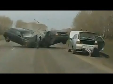 Brutal - 2012 2011-December Car Crash Compilation, car camera records.